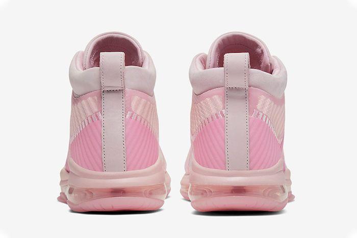 John Elliott Nike Le Bron Icon Tulip Pink Wolf Grey Active Fuchsia Heel