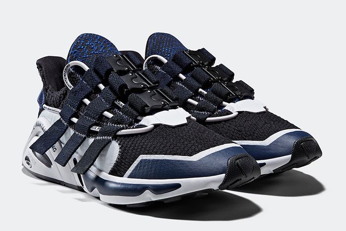 White Mountaineering Adidas Lxcon Black Navy Quarter