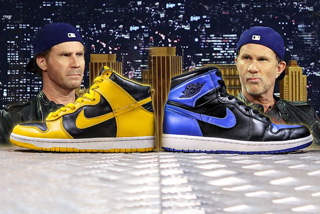 Nike Dunk Versus Air Jordan 1 Comparison Header