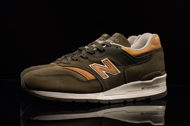 New Balance 997 Olive Chestnut 2