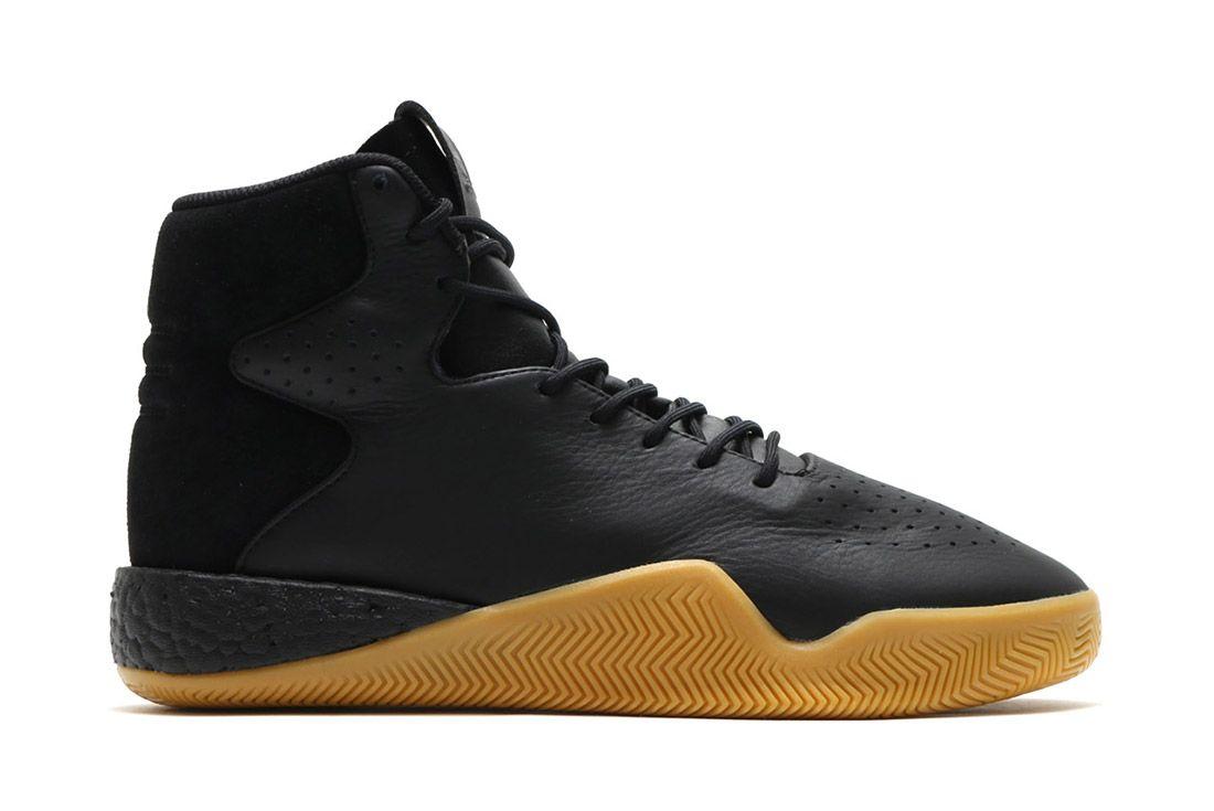 Adidas Tubular Instinct Black Leather 9