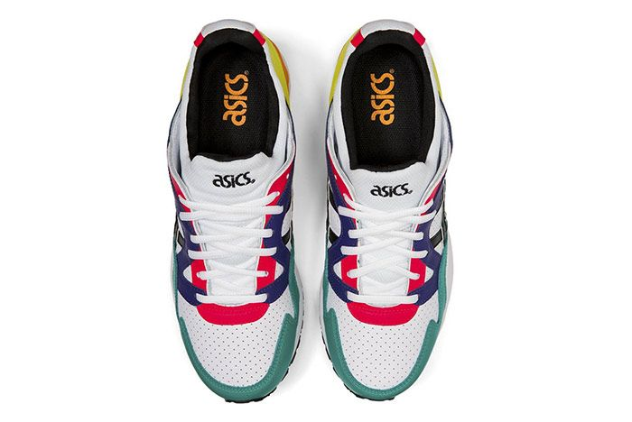 Asics Gel Lyte V Multi Color Leather Top