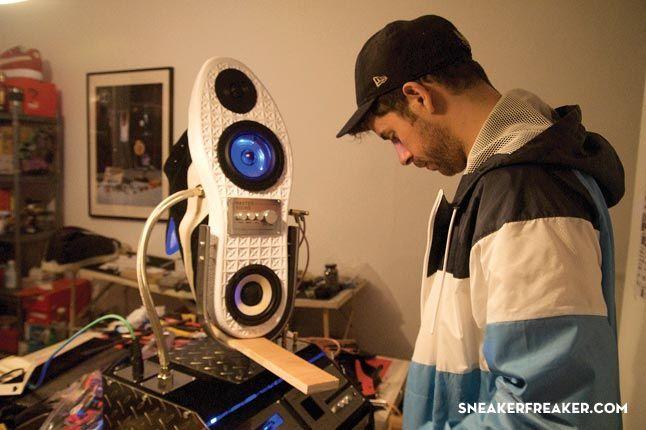 Doom Sneaker Speakers Making Of 17 1