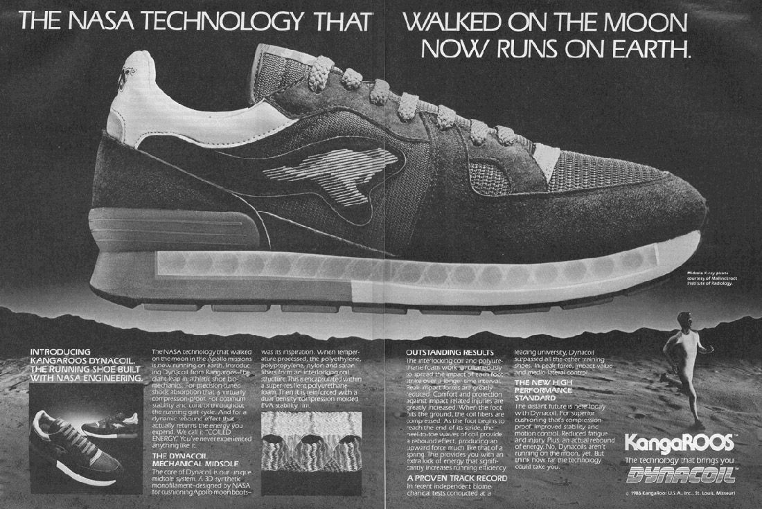 Material Matters Sneakers Of The Space Race Dynacoil 1