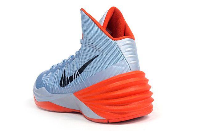 Nike Hyperdunk 2013 Silver Orange