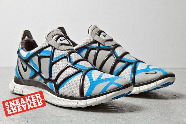 Nike Free Alt Closure Run Blue Grey 2 1