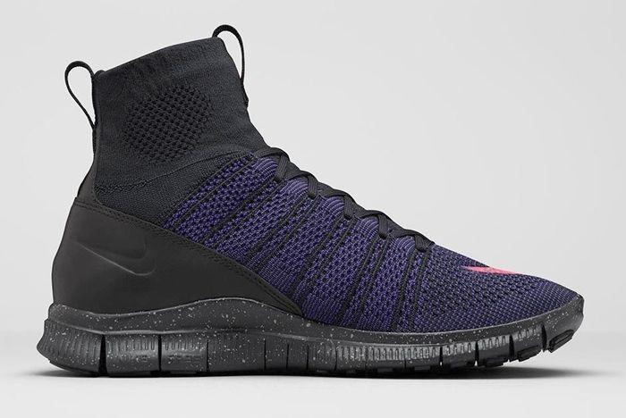 Nike Free Flyknit Mercurial Black Court Purple 4