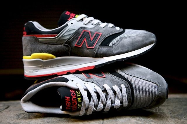 New Balance 997 Made Usa Dark Grey 1