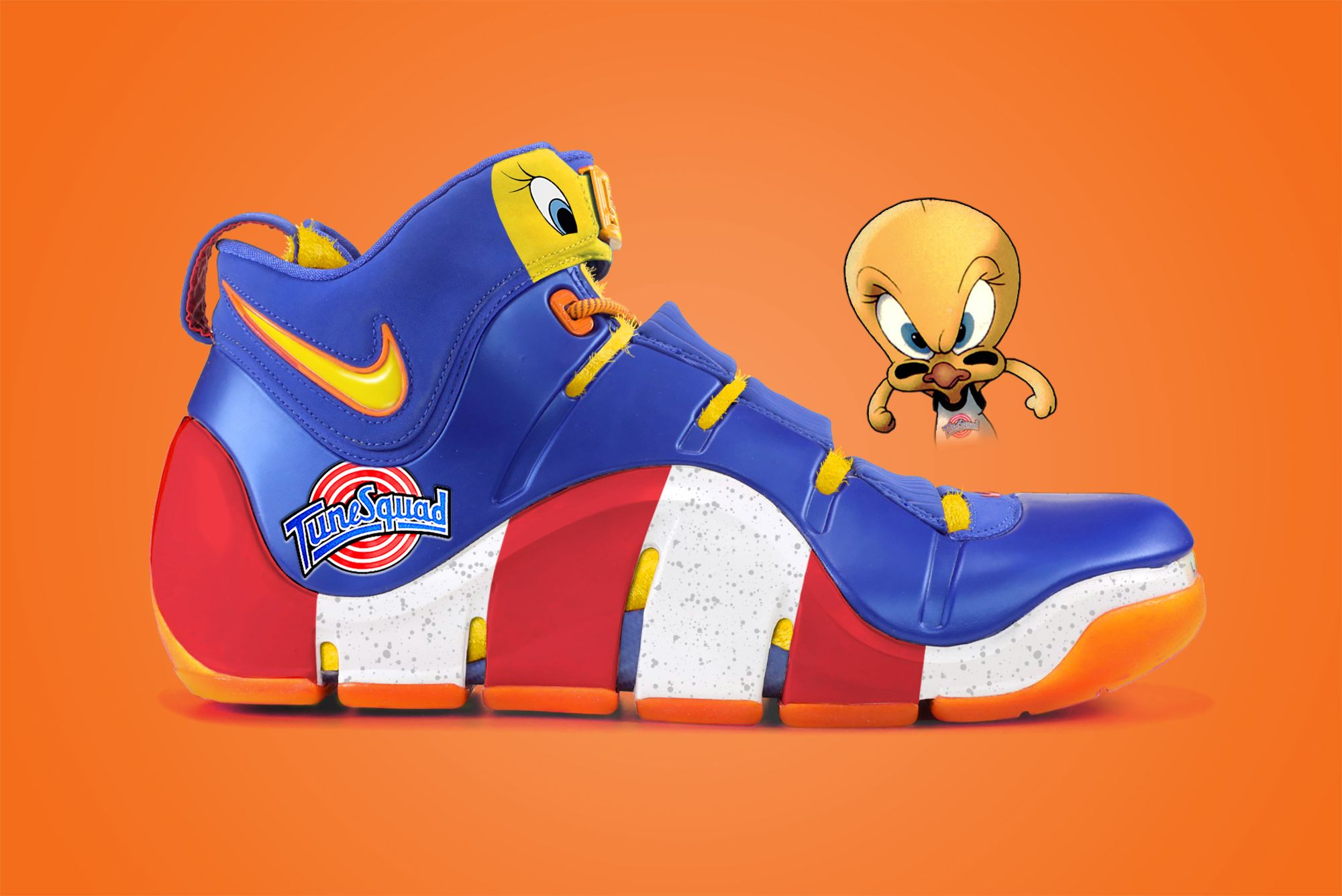 Nike LeBron 4 'Tune Squad: Tweety'