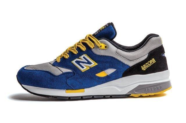 New Balance 1600 Blue Yellow 1