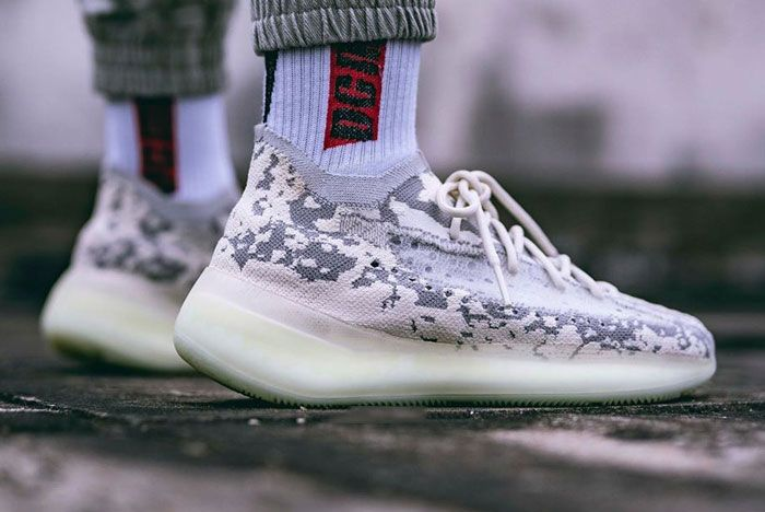Adidas Yeezy Boost 380 Alien On Foot