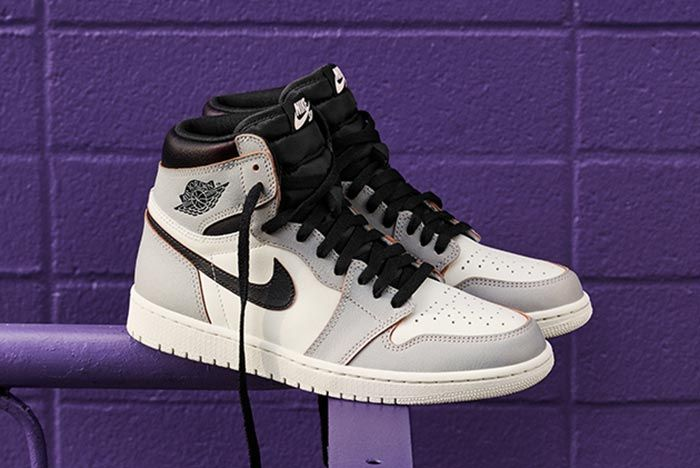 Nike Sb Air Jordan 1 Light Bone Three Quarter Shot