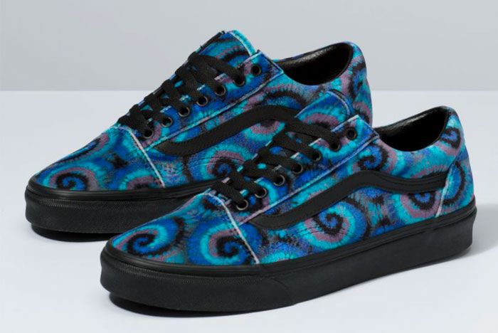 Vans Old Skool Tie Dye Toe