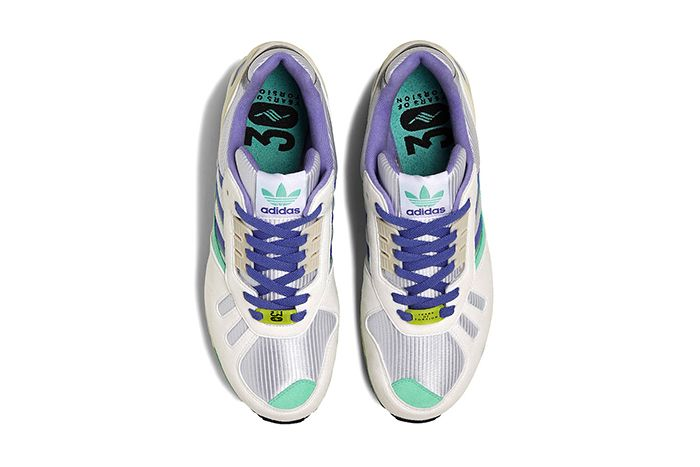 Adidas Zx 7000 White Lilac Green Fu8404 Release Date Top Down