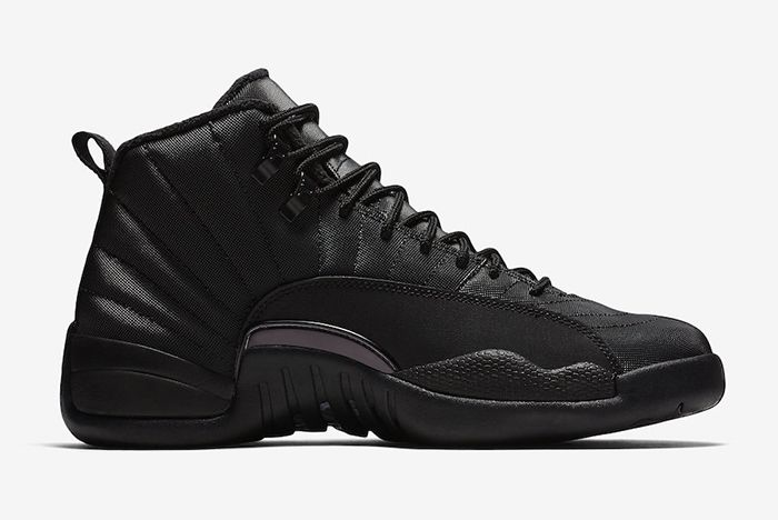 Air Jordan 12 Winterized Triple Black Official 3
