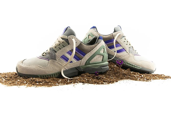 Packer Adidas Consortium Zx 9000 Violet Meadow Release Date Pair