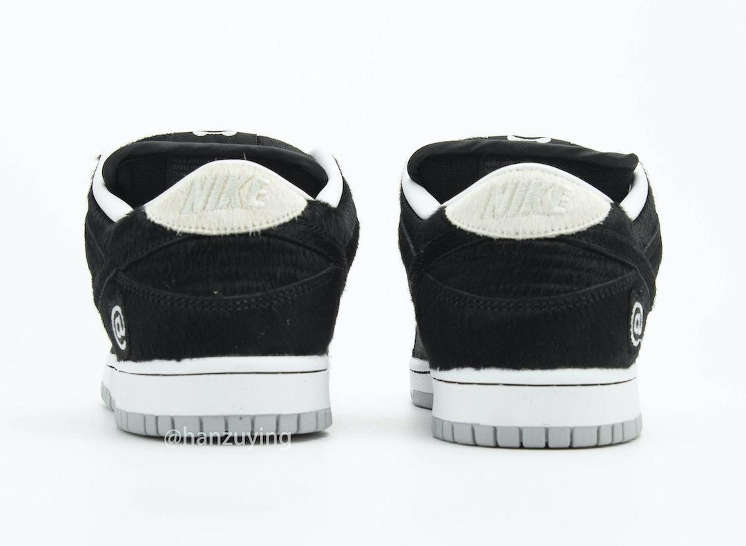 Medicom Nike SB Dunk Low Bear Brick Heel