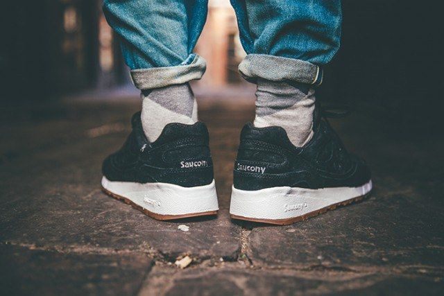 Saucony Irish Coffee Pack On Foot 11 640X4271