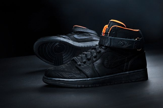 Just Don X Jumpman23 Bhm Aj1 Pair With Outsole 1