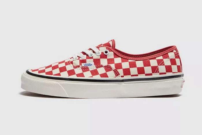Vans Authentic Red Checkerboard Sale