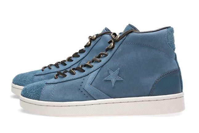 Converse First String Pro Leather Mid Zip 8
