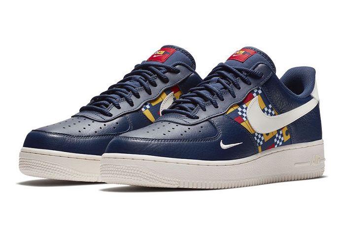 Nike Air Force 1 Low Nautical Redux Ar5394 400 Sneaker Freaker