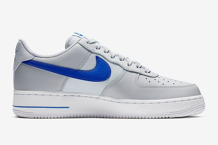 Nike Air Force 1 Low Grey Blue Right