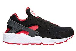 The Nike Air Huarache Blackuniversity Red Is Available Now 1 Thumb1