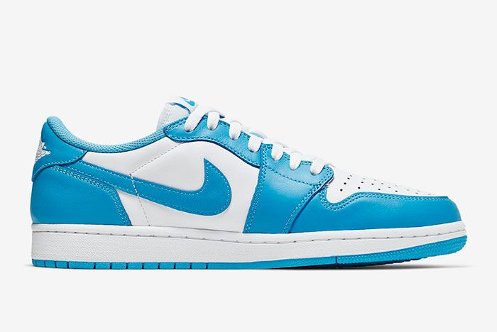 Nike Sb Air Jordan 1 Low Unc Cj7891 401 Medial