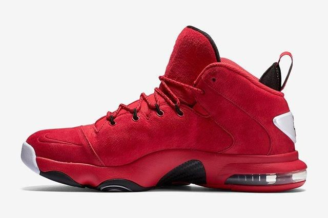 Nike Air Penny 6 Red Suede 2
