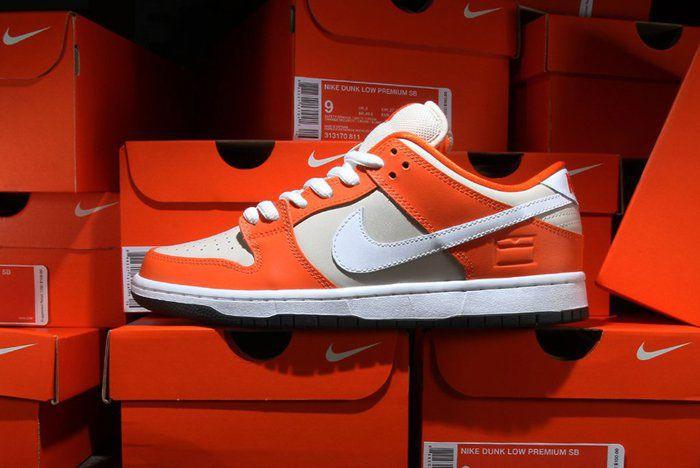 Nike Recap Sb Dunk Orange Box