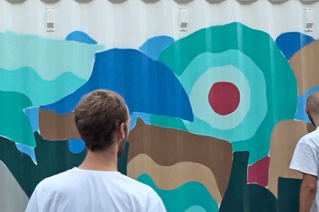 Boxpark Live Graffiti– Sobek Sicks Ha 13