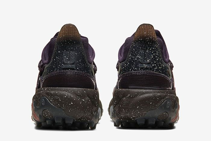 Undercover Nike React Presto Purple Heel Shot