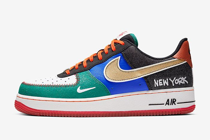Nike Air Force 1 Low What The Nyc Left