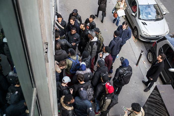 Sneakersnstuff Paris Opening Day 2