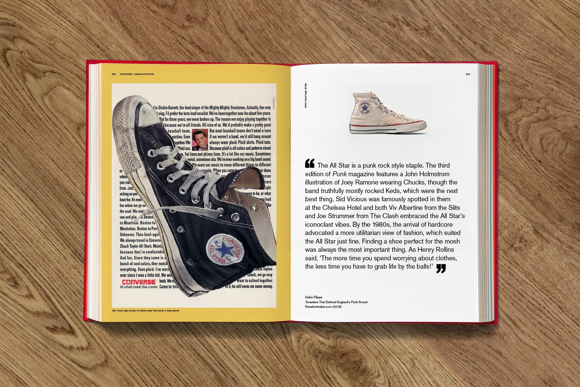 SOLED OUT Sneaker Freaker Book Converse