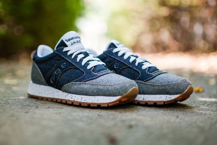 Saucony Jazz Original Dark Denim Gum 3