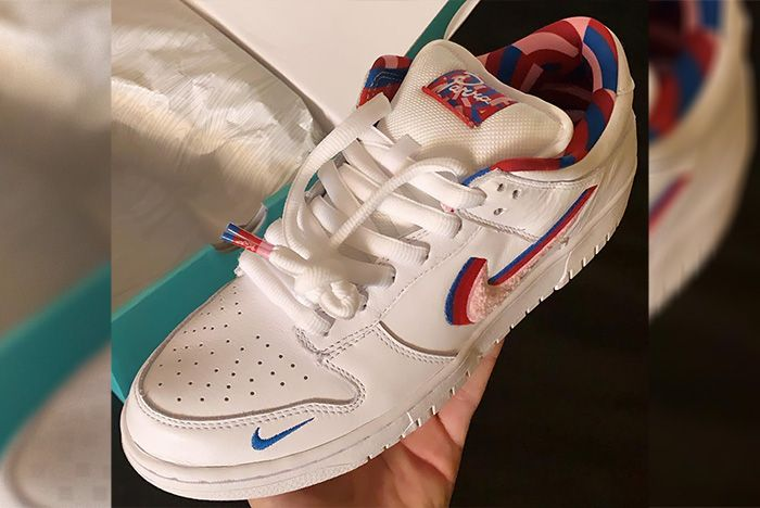 Parra X Nike Dunk Low Angle Shot