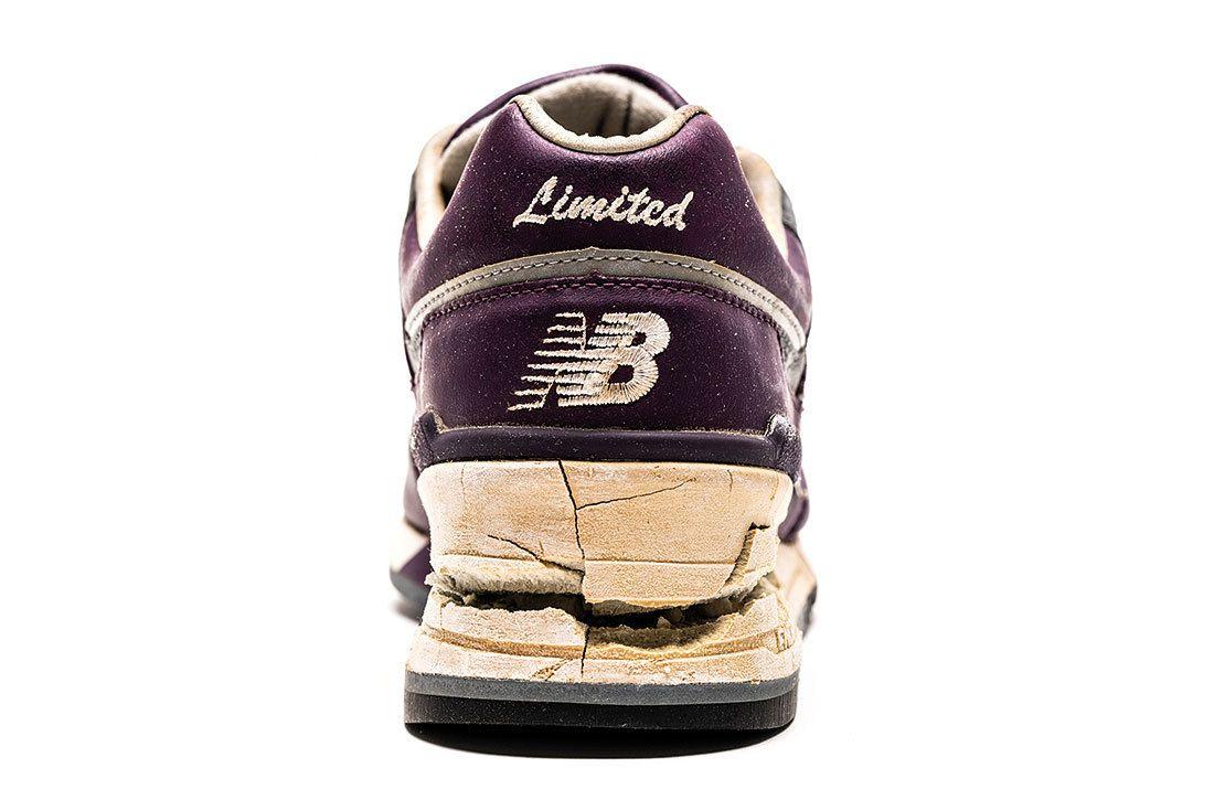 Nb 997 Purple Leather Heel