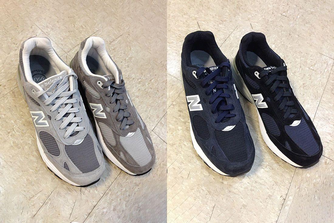 Engineered Garments x New Balance 993 2013