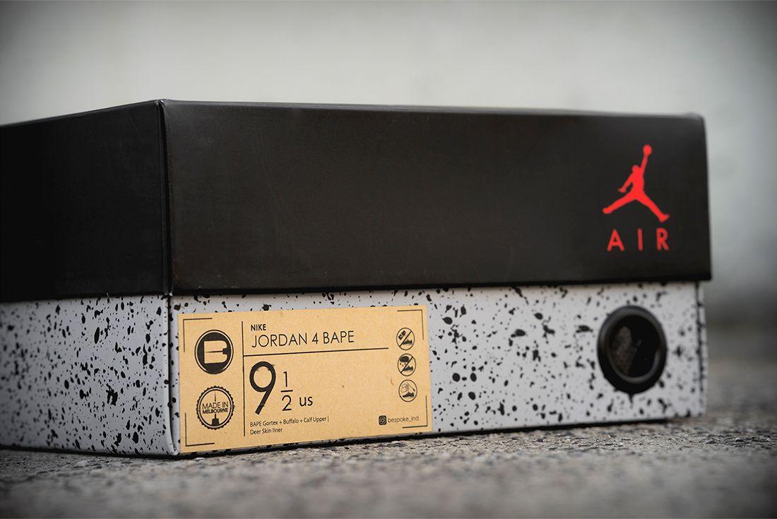 Bespoke Ind Air Jordan 4 Bape 18