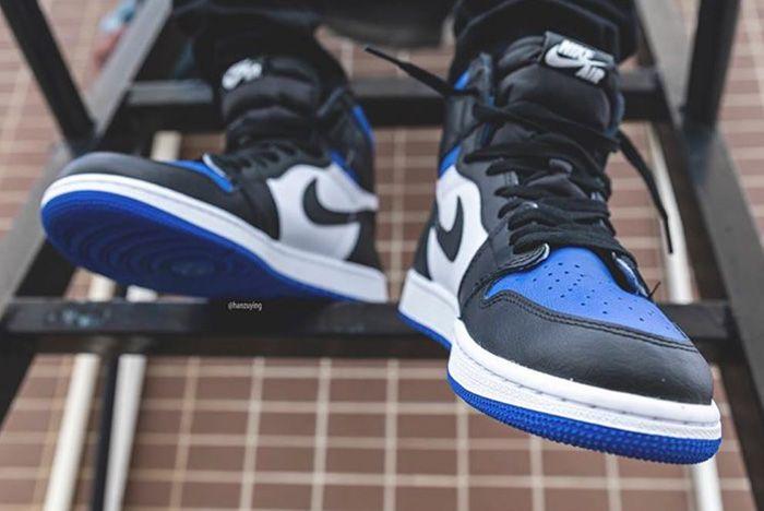 Air Jordan 1 Game Royal Toe Toe