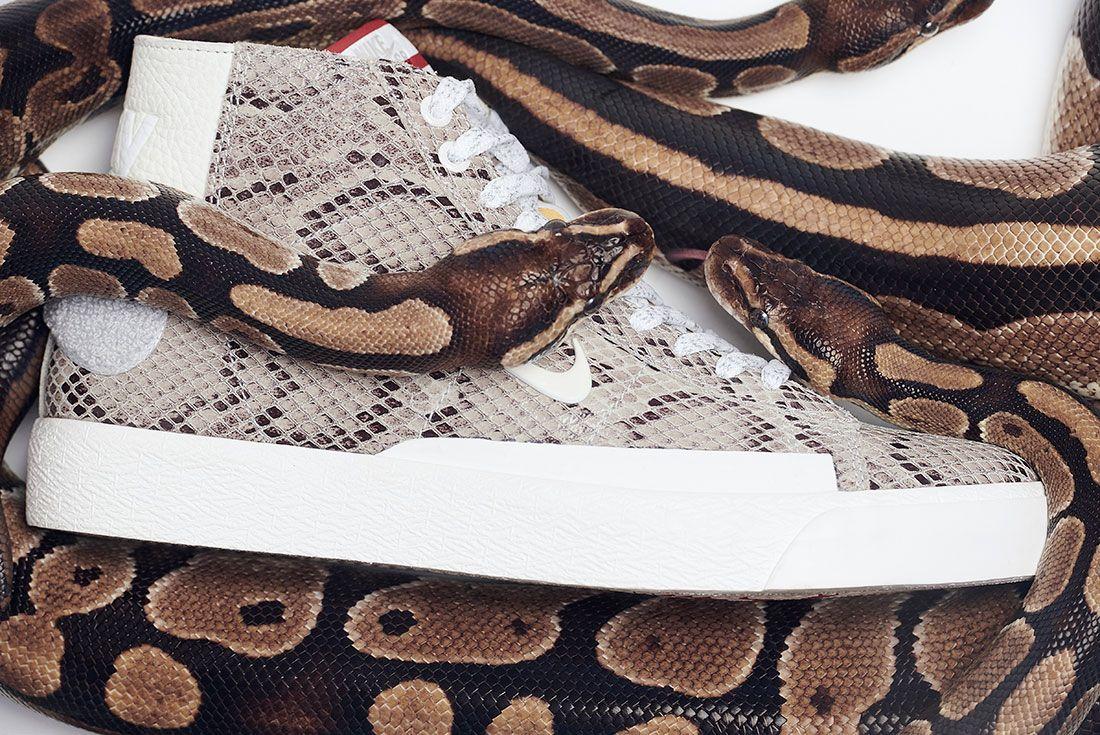 Soulland Nike Sb Blazer Snake Snakeskin Header