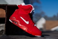 Nike Air Force Command University Red Thumb