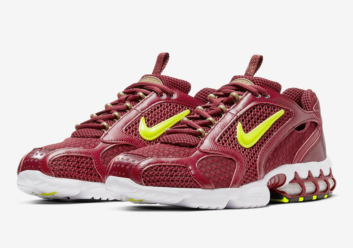 Nike Zoom Spiridon Cage 2 Team Red Angled