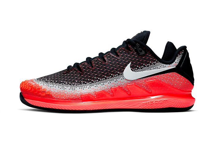 Nikecourt Air Zoom Vapor X Knit Hot Lava Release Date Lateral