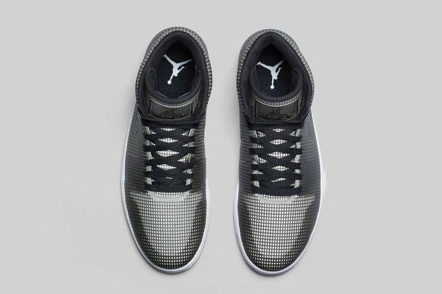 Air Jordan 4Lab1 Black Reflect Silver 1