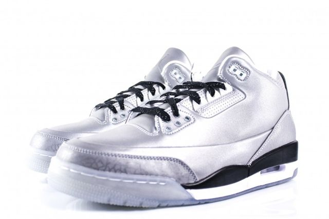 Air Jordan 3 5Lab3 Metallic Silver 5