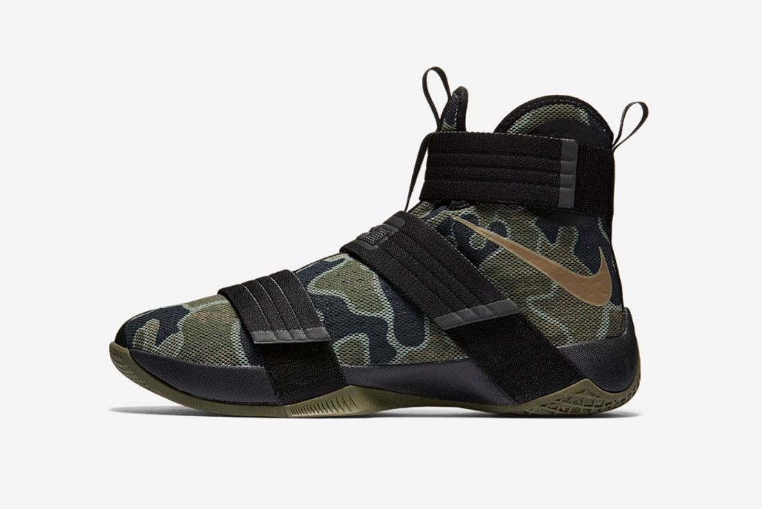 Nike Lebron Soldier 10 Camo 2