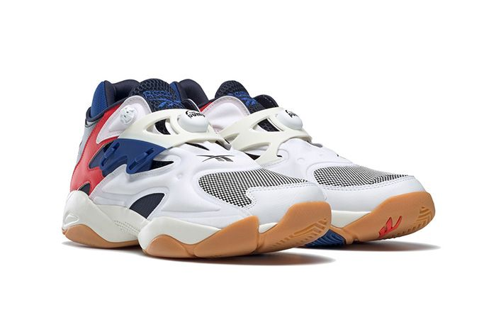Reebok Pump Court White Collegiate Navy Red Chalk Fv5565 Front Angle